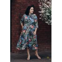 Marga suknelė SHERLE | ilga suknelė