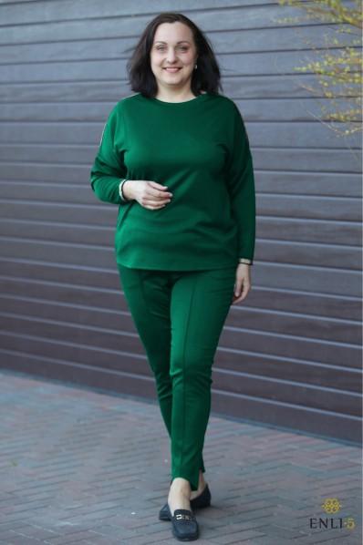 """Smaragdinis laisvalaikio kostiumas """"HATORA"""""""