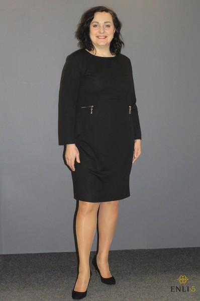 """Juodos spalvos suknelė """"Eleonora"""""""