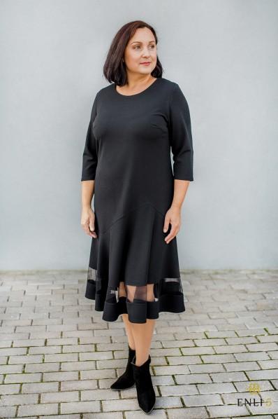 """Juodos spalvos suknelė """"Žaneta"""""""