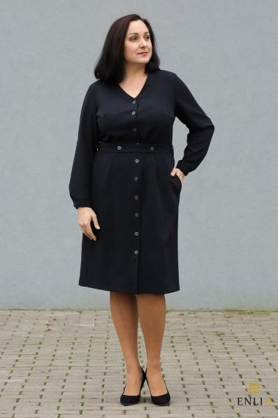 """Juodos spalvos suknelė/marškinukai """"Andi"""""""
