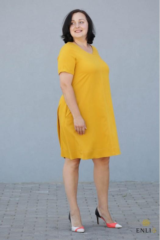 "Geltona suknelė ""Milla"""