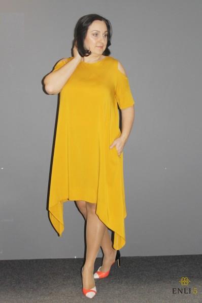 "Geltona suknelė ""Megan"""
