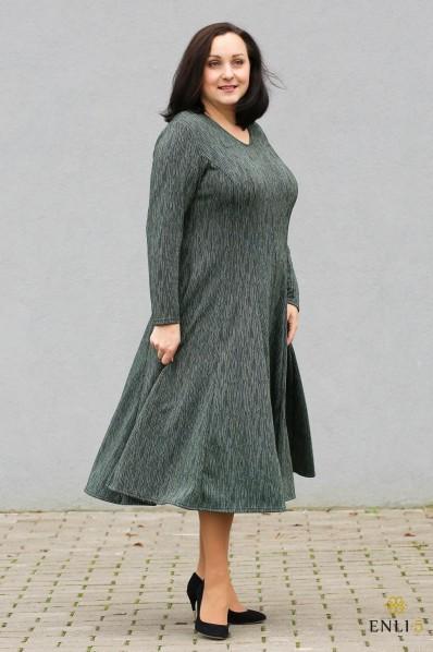 """Žalia blizgi suknelė """"Nelė"""""""